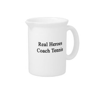 Real Heroes Coach Tennis Drink Pitchers