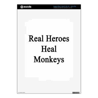 Real Heroes Heal Monkeys iPad 3 Skin