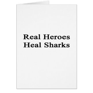 Real Heroes Heal Sharks Cards