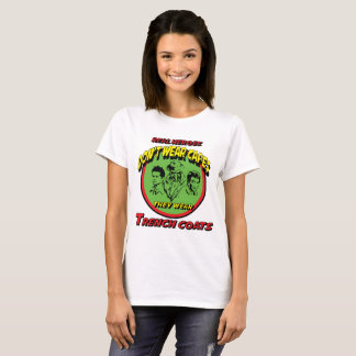 Real heroes wear trench coats T-Shirt
