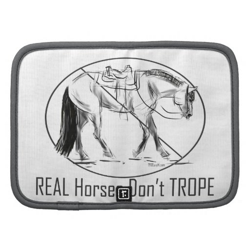 Real Horses Don't Trope Western Pleasure Design Planners