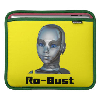 Real Hot Metal Head iPad Sleeve