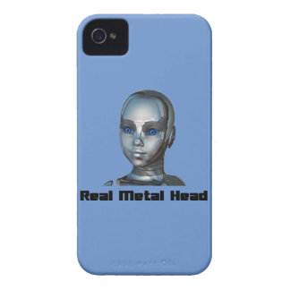 Real Hot Metal Head iPhone 4 Case