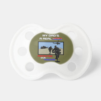 Real Hreo Military Pacifier
