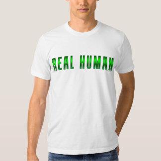 Real Human #3 T Shirt