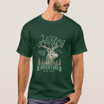 Real Hunting Vintage Style Hunt Theme T-Shirt