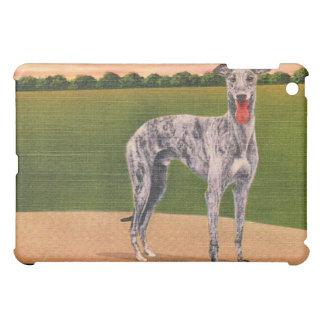 REAL HUNTSMAN Greyhound Dog iPad Case