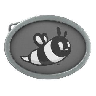 Real Ink™ Brand Cartoon Bee Grey Belt Buckle