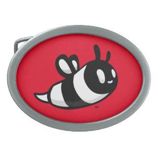 Real Ink™ Brand Cartoon Bee Red Belt Buckle