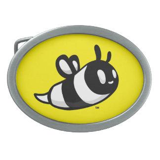 Real Ink™ Brand Cartoon Bee Yellow Belt Buckle