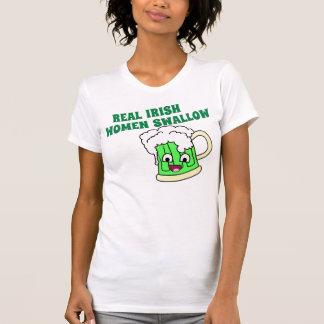 Real Irish Women Swallow T-Shirt