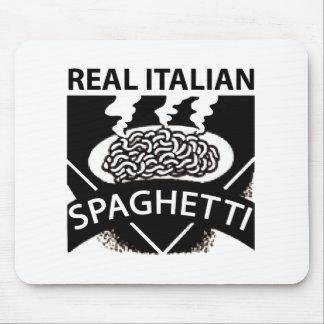 Real Italian Spaghetti Mouse Pad