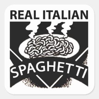 Real Italian Spaghetti Stickers