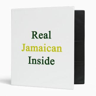 Real Jamaican Inside 3 Ring Binders