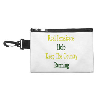 Real Jamaicans Help Keep The Country Running Accessories Bags