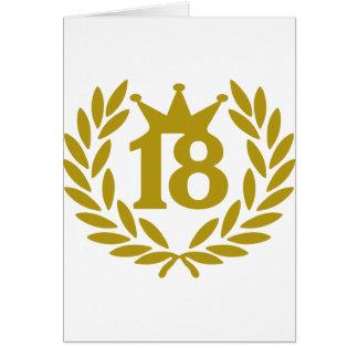 real-laurel-corona 18 tarjeta