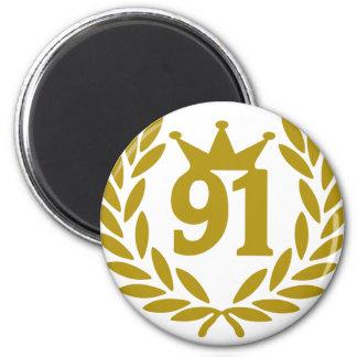 real-laurel-corona 91 iman para frigorífico