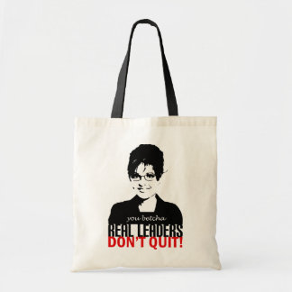 Real Leaders Tote Bag