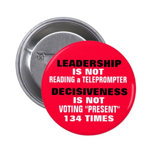 REAL LEADERSHIP & DECISIVENESS or MORE HYPE?? Button