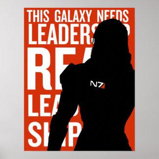 Real Leadership: Femshep Poster