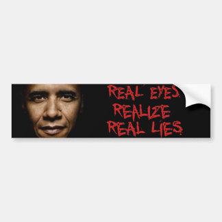 Real Lies Bumper Sticker