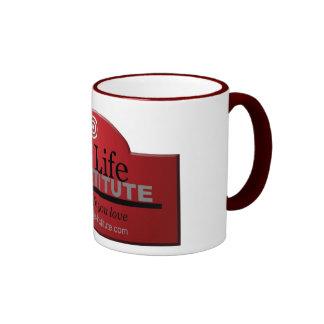 Real Life Institute Ringer Mug