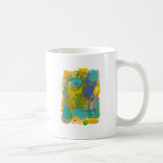 Real life is messy. (And it's not televised.) art Coffee Mug