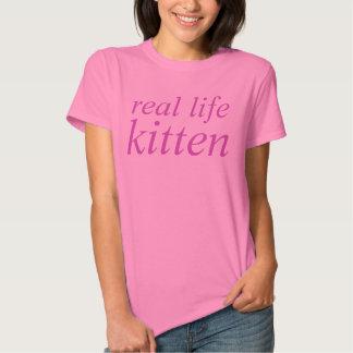 real life kitten t-shirts