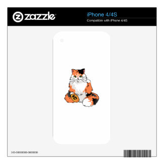 Real Life Lucky Cat iPhone 4 Skin