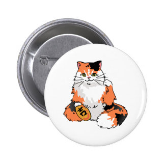 Real Life Lucky Cat Pinback Button