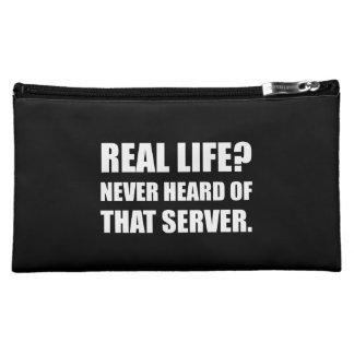 Real Life Never Heard Server Makeup Bag