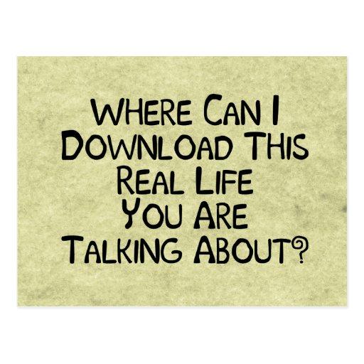 Real Life Postcard