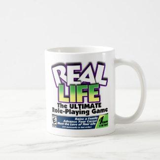 Real Life RPG Classic White Coffee Mug