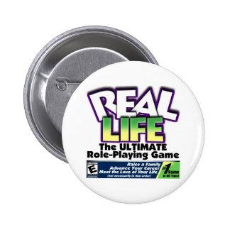 Real Life RPG Pin