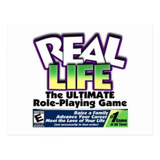 Real Life RPG Post Card