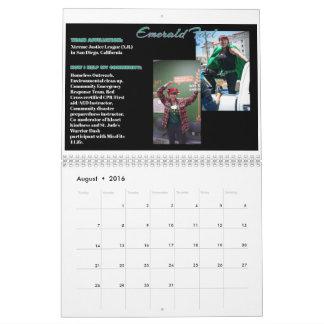 Real Life She-Heroes & Villains 2016-17 Calendar