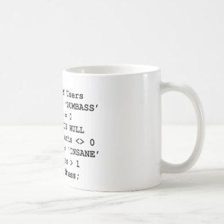 Real Life SQL Classic White Coffee Mug