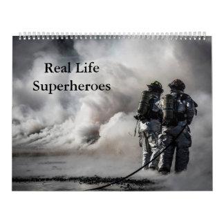 Real Life Superheroes Calandar Calendar