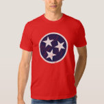 Real Life Tennessee State Flag Grunge Nashville T Shirts