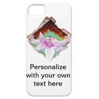 Real lilly iPhone 5 protector