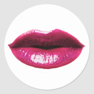 Real lips sticker