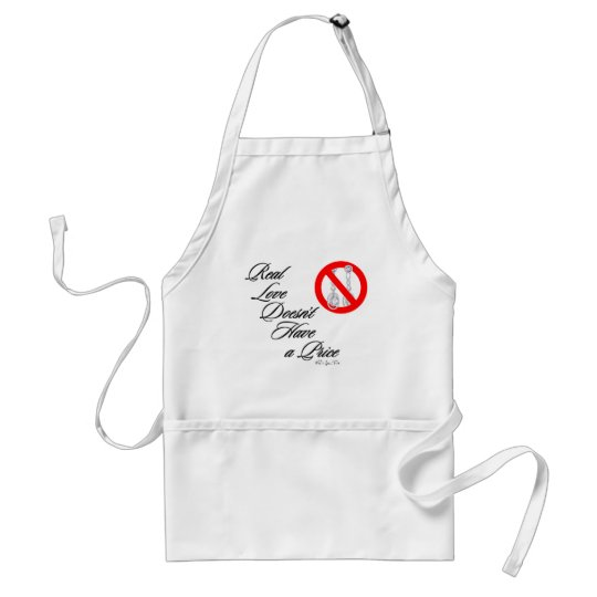 Real Love 3 Adult Apron
