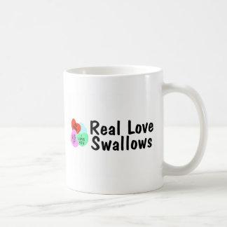 Real Love Swallows Classic White Coffee Mug