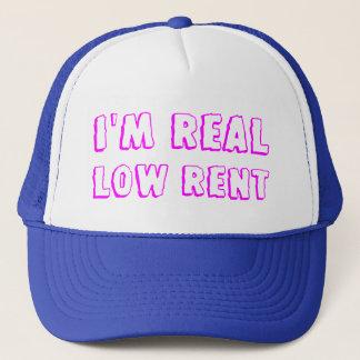 real low rent trucker hat