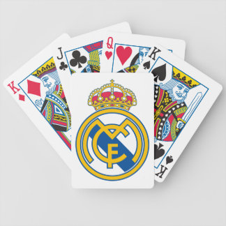 Real Madrid Playing Cards