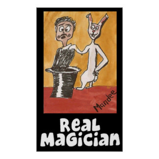 Real Magician Poster