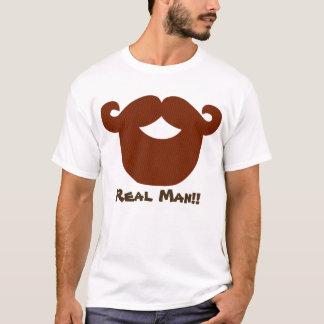 Real Man Beard Men's Basic T-Shirt