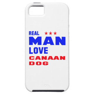 Real man love Canaan dog iPhone 5 Covers