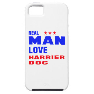 Real man love Harrier dog iPhone 5 Cases