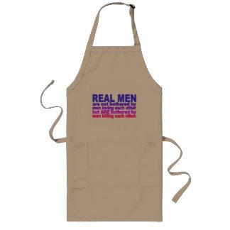 Real Men apron - choose style & color